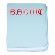 Bacon baby blanket