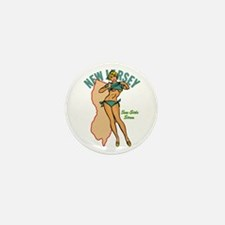 New Jersey Pinup Mini Button (10 pack)