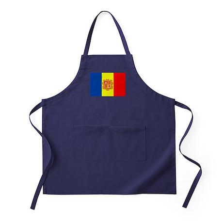 Andorra Flag Apron (dark)