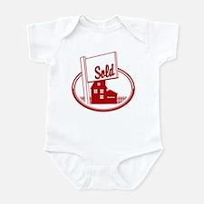 RE oval SOLD Infant Bodysuit