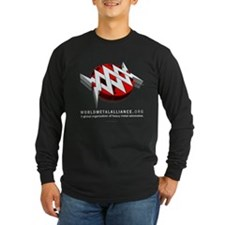 WMA Long Sleeve Black T-Shirt