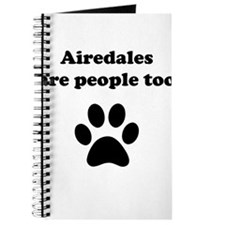 Airedales Are People Too Journal