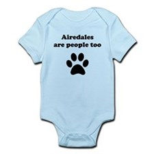 Airedales Are People Too Body Suit