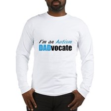 Autism Dadvocate Long Sleeve T-Shirt