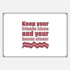 Bacon Humor Saying Banner
