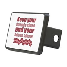 Bacon Humor Saying Hitch Cover
