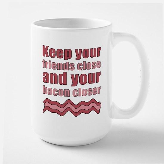 Bacon Humor Saying Large Mug