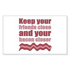 Bacon Humor Saying Decal