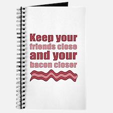 Bacon Humor Saying Journal