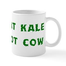 Eat Kale Not Cow Small Mug
