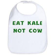 Eat Kale Not Cow Bib