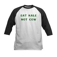 Eat Kale Not Cow Baseball Jersey
