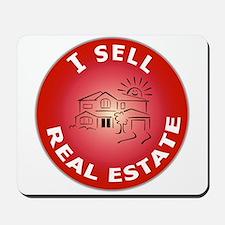 I SELL Real Estate Circle- Mousepad