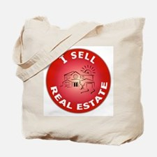 I SELL Real Estate Circle- Tote Bag