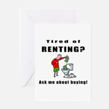 RENTING? Greeting Cards (Pk of 10)