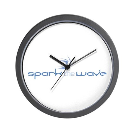 Spark the Wave Wall Clock