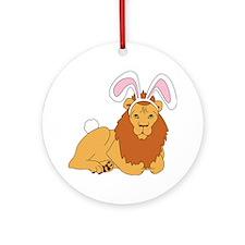 Lion Bunny Ornament (Round)