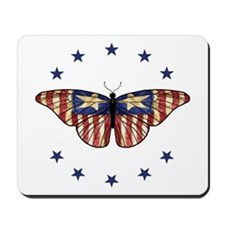 Patriotic Butterfly 2000x2000.png Mousepad