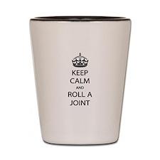 Roll A Joint Shot Glass