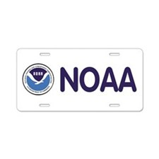 Cute National oceanic atmospheric administration Aluminum License Plate