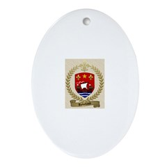 ROBICHAUD/Robichaux/Robicheaux Ornament (Oval)