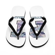 PT Camo Gray Flip Flops