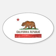 Vintage California Flag Decal