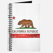 Vintage California Flag Journal