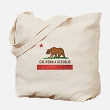 Vintage California Flag Tote Bag