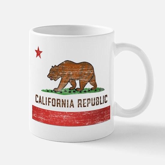 Vintage California Flag Mug