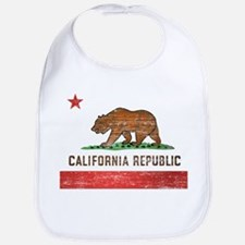 Vintage California Flag Bib
