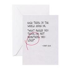 John Cage Greeting Cards #11 (Pk of 10)