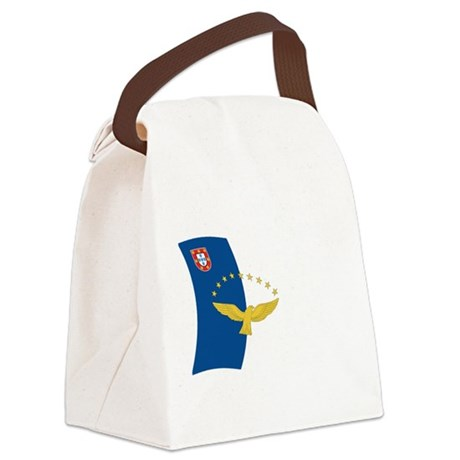 Azores Flag Canvas Lunch Bag