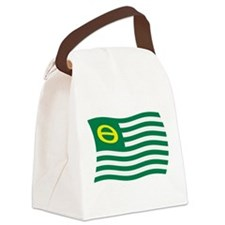 Ecology Movement Flag Canvas Lunch Bag