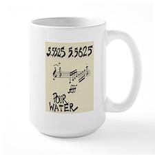 "John Cage ""Water Music No. 5"" Mug"