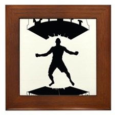 MMA Mixed martial arts Framed Tile