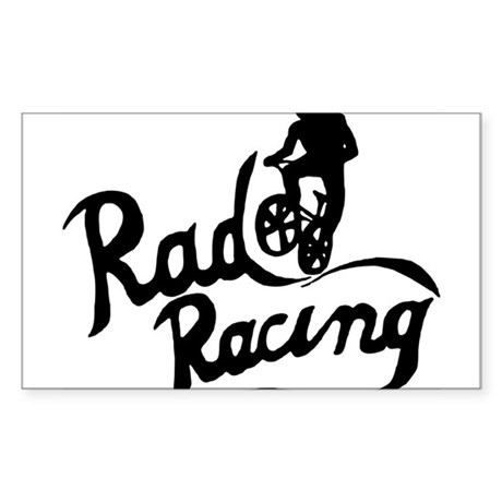 Rad Racing Sticker