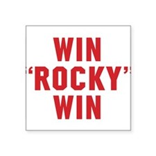 Win Rocky Win Sticker