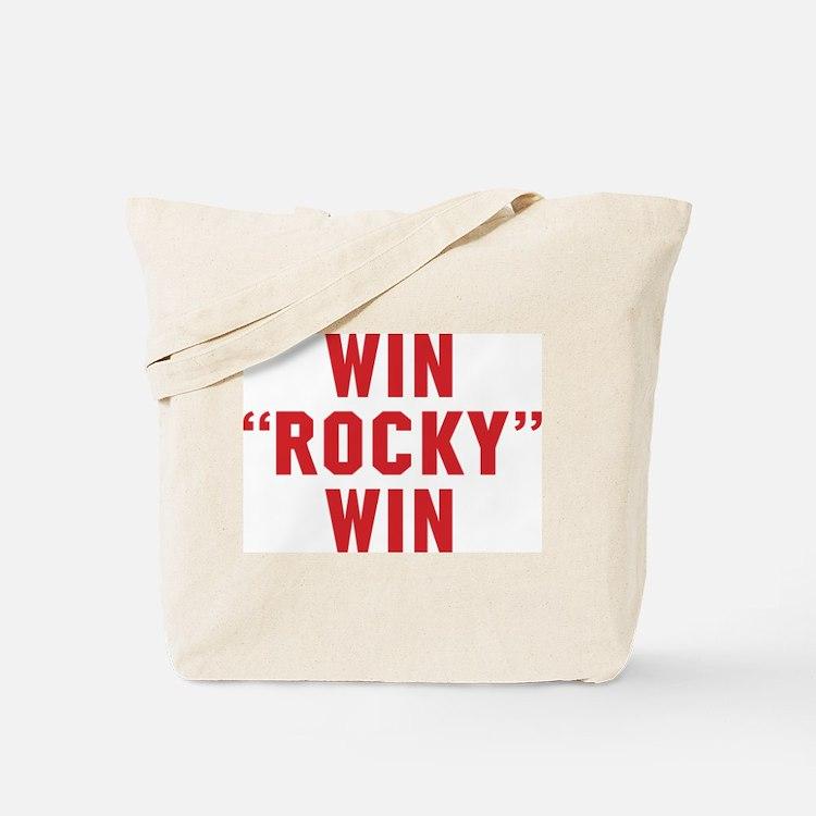 Win Rocky Win Tote Bag