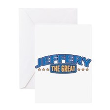 The Great Jeffery Greeting Card