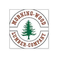 Morning Wood Lumber Company Sticker