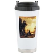 Yosemite Indian Encampment Travel Mug