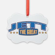 The Great Jett Ornament