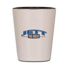 The Great Jett Shot Glass