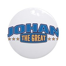 The Great Johan Ornament (Round)