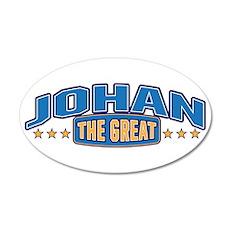 The Great Johan Wall Decal