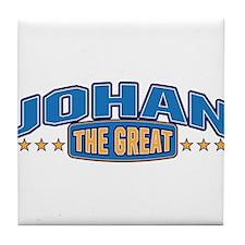 The Great Johan Tile Coaster