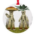 Lovable Vegetables - Waving Ornament