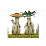 Lovable Vegetables - Waving Postcards (Package of