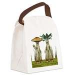 Lovable Vegetables - Waving Canvas Lunch Bag